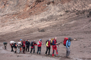 scalata al Kilimangiaro