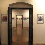 L'interno della mostra a Palazzo Frangipane