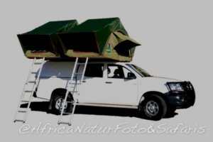 Toyota hilux camping