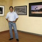 Valentino e 3 delle sue opere, nella mostra in Namibia