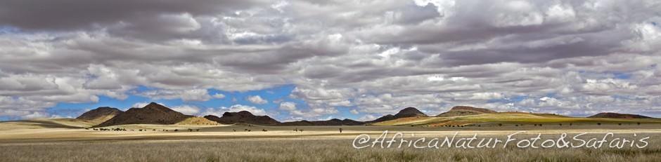 la magia della pioggia nel deserto africano